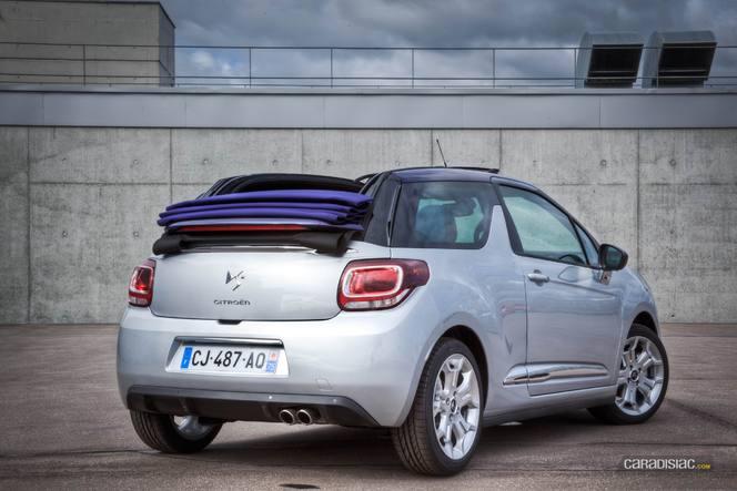 Mondial de Paris 2012 - Vidéo de la Citroën DS3 Cabrio en avant-première