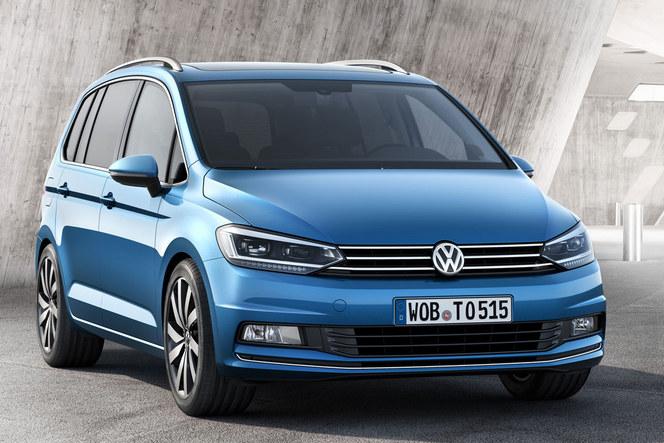 Salon de Genève 2015 - Volkswagen Touran, nouveau départ