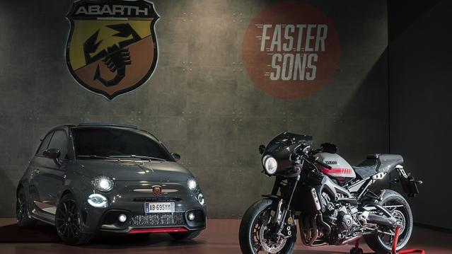 Abarth : une 695 Tributo XSR en hommage à la moto développée conjointement avec Yamaha
