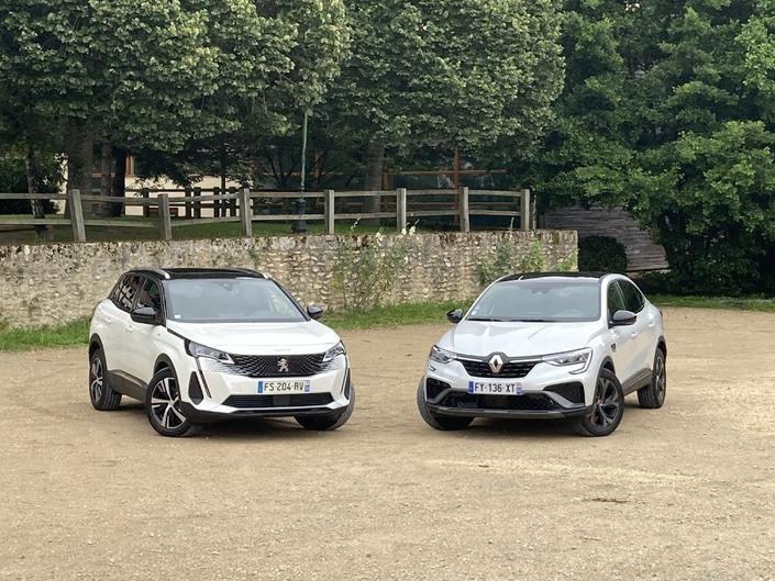 Comparatif vidéo - Peugeot 3008 VS Renault Arkana : duel tricolore