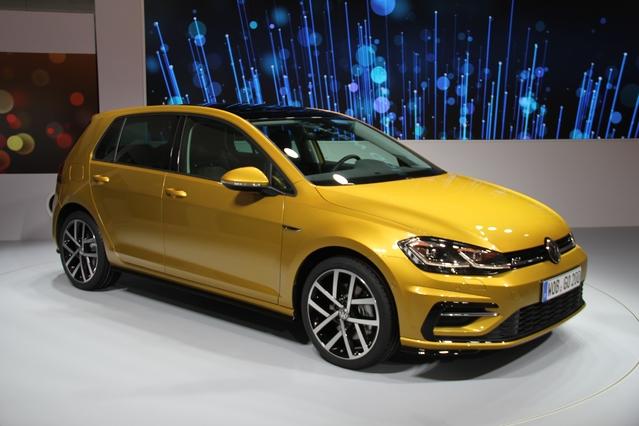 Première vidéo de la Volkswagen Golf 7 restylée : découvrez les premières images en live