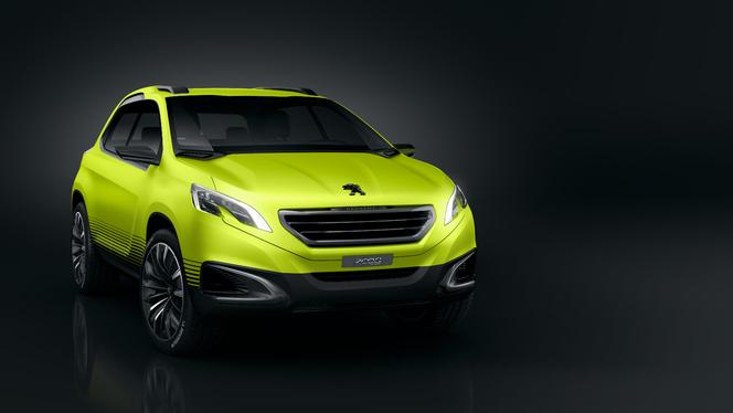 Mondial 2012 - Peugeot 2008 concept officiel (toutes les photos HD)