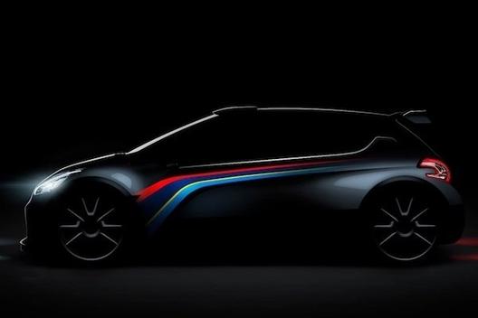 Mondial de Paris 2012 - La Peugeot 208 Type R5 y sera!