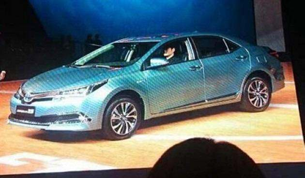 Toyota présente en Chine une Corolla hybride