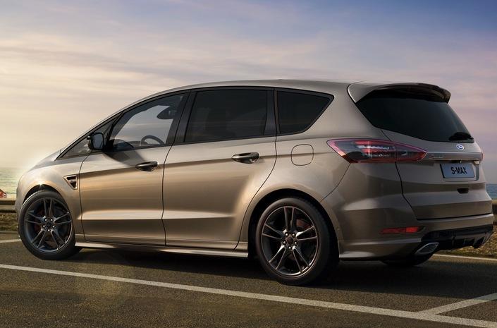 En marge du Mondial de Paris 2018… - Ford met à jour les S-Max et Galaxy
