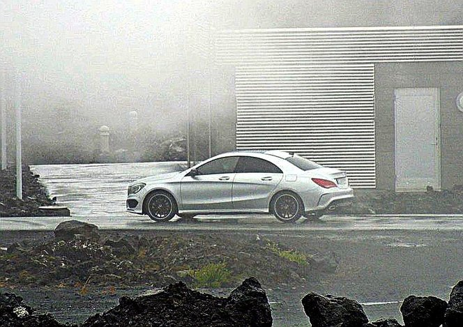 Surprise : voici la Mercedes CLA