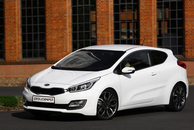 Toutes les nouveautés du Mondial 2012 - Kia Pro_Cee'd : coupé