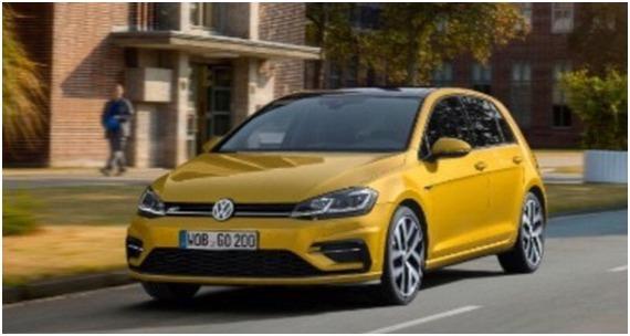 Volkswagen : la Golf restylée a fuité