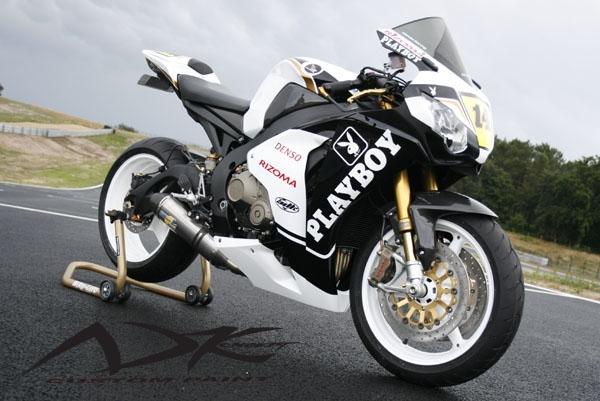 Prototype AD Koncept : La Honda CBR Playboy