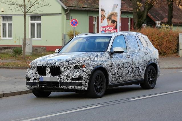 Surprise : le futur BMW X5 pointe le bout de son nez