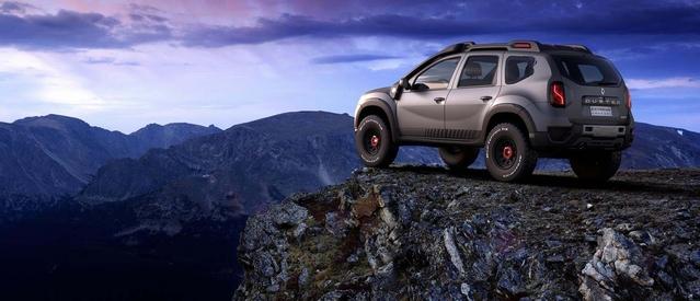 Renault Duster Extreme Concept et Sandero R.S. Grand Prix : deux Dacia virilisées