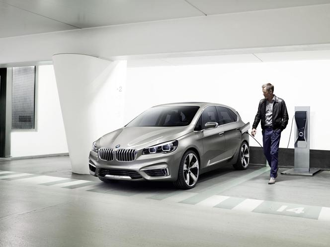 Mondial de Paris 2012 : BMW Concept Active Tourer, la première traction BMW