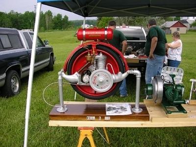 A l'origine de la moto : Smith Motor Wheel