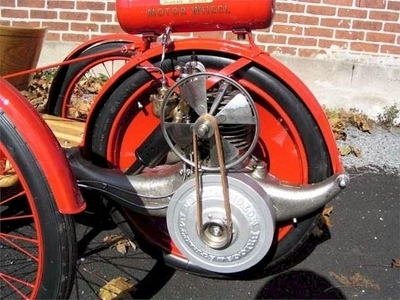 A l'origine de la moto : Smith Motor Wheel