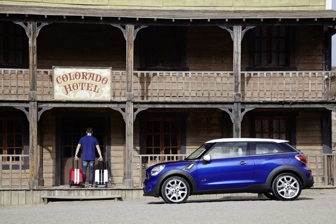 Mondial de Paris 2012 : Mini Paceman officiel (vidéo et photos HD)