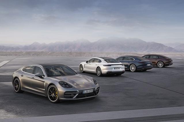 Nouvelle Porsche Panamera: V6 essence et version longue