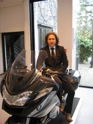 Marcel Driessen prend les commandes de BMW Motorrad France