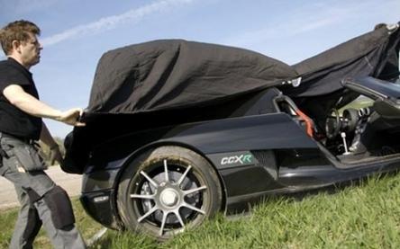 Koenigsegg CCXR : un accident qui fait mal à la voiture écolo !