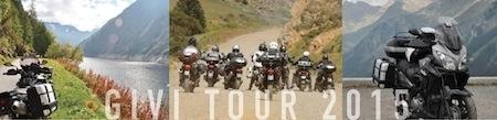 Givi Tour 2015: direction le Sud