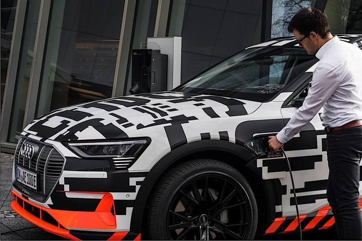 72 000 points de recharge pour les propriétaires d'Audi e-tron en Europe