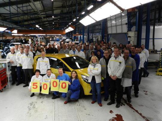 La 5000e Renault Clio RS est sortie de chaîne