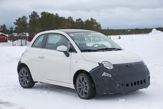 Surprise : La Fiat 500 va se faire lifter