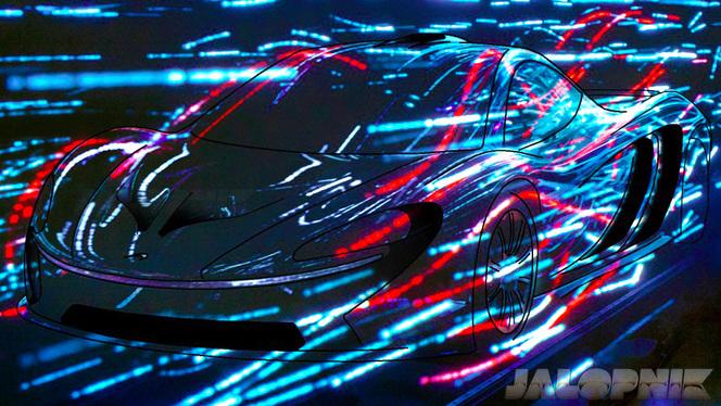 Mondial de Paris 2012 : La McLaren P12 se dessine sous nos yeux