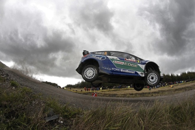 WRC Grande Bretagne Jour 1 : Latvala et Solberg distancent Loeb