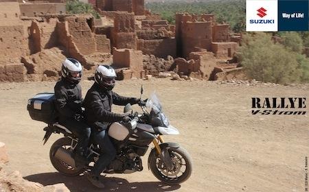 Suzuki France, Rallye V-Strom 2015: à vous le désert marocain