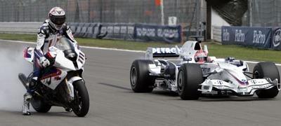 Superbike - BMW: Corser monte dans la Formule 1