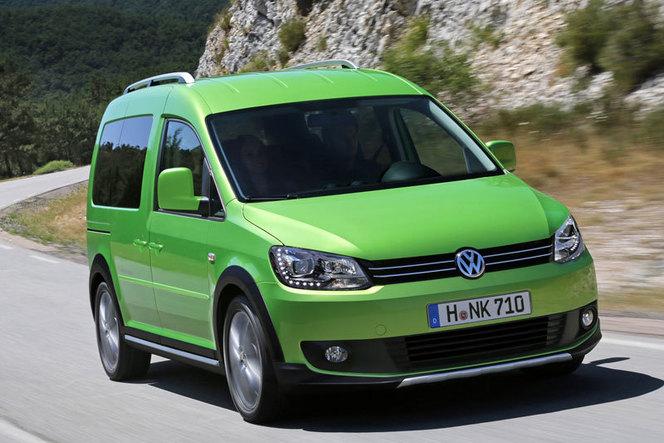 Nouveau Volkswagen Cross Caddy