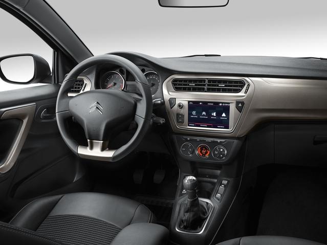 En plus de faire progresser la dotation technologique de l'auto, l'écran tactile donne un peu de cachet à l'intérieur.