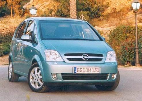 Essai - Opel Meriva : une Opel en Fusion
