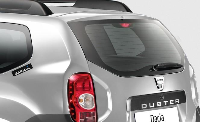 Mondial de Paris 2012 - Dacia Duster série limitée Garmin