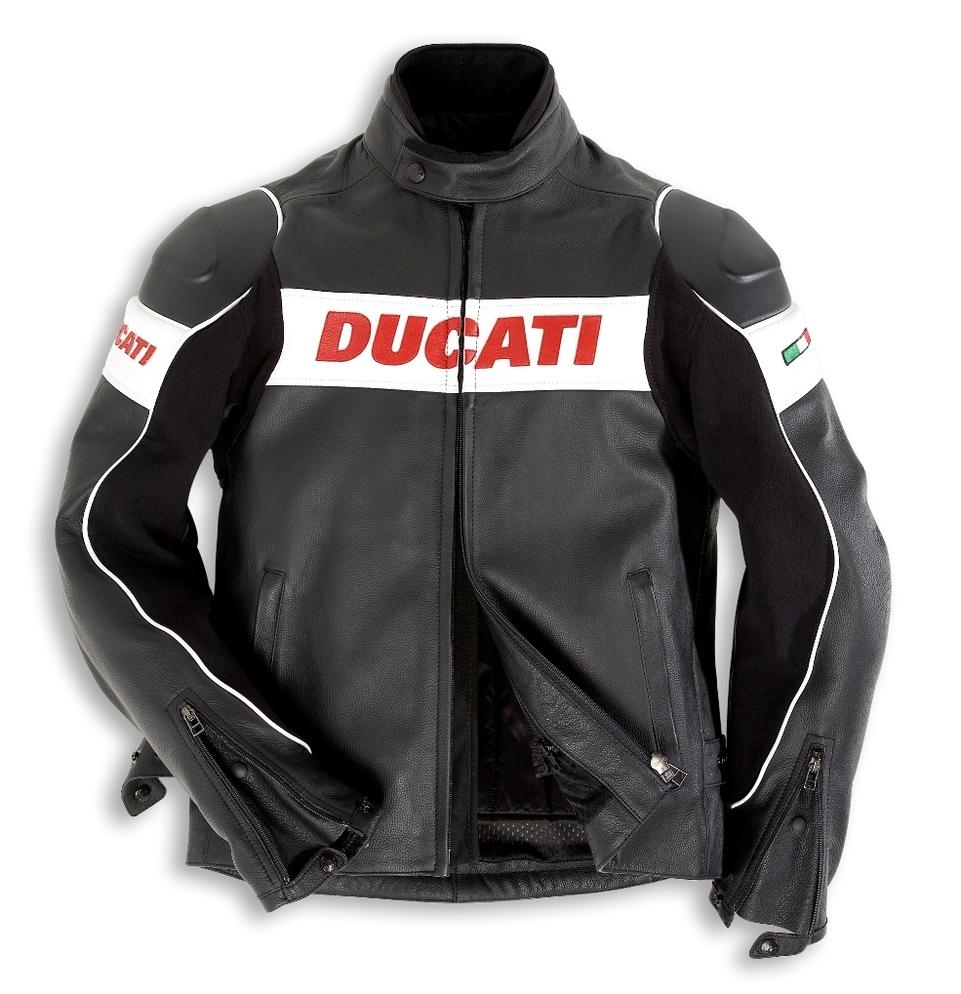 """Duacti : veste et gants """"Motards"""" 2008"""