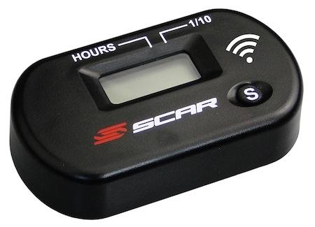 Scar: compteur d'heures autonome sans branchement