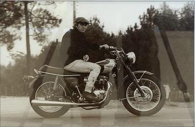 Moto à vendre : Steve McQueen 1967 Triumph Bonneville