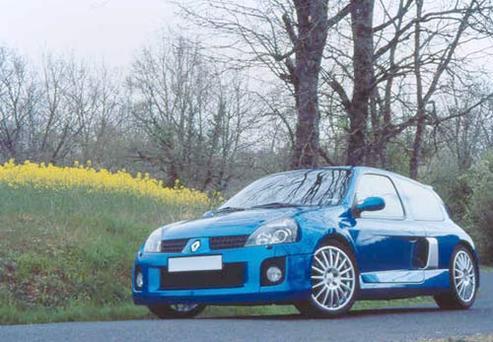 Essai -  Renault Sport Clio V6 : la bombe nette