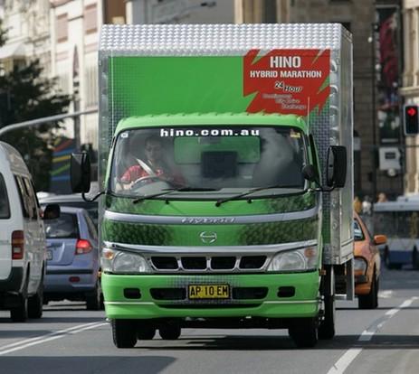 Hino : Dutro Hybrid 6500, le camion vert qui roule des mécaniques en Australie !