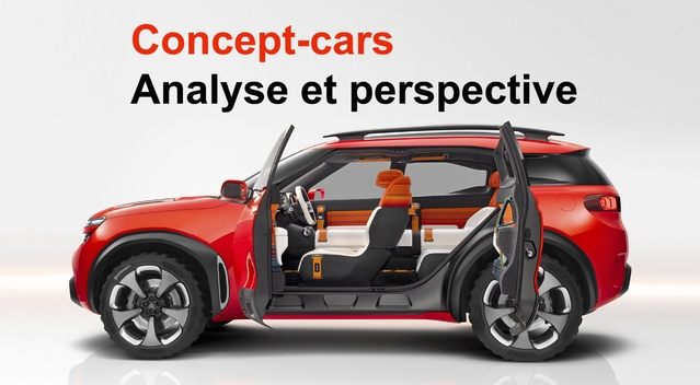 Concept-cars : analyse et perspective
