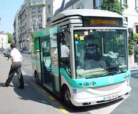 RATP : le Stop-Start de Valeo à l'essai sur un Microbus à Paris