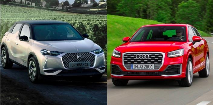 DS3 Crossback vs Audi Q2 - Les matchs du Mondial de Paris 2018