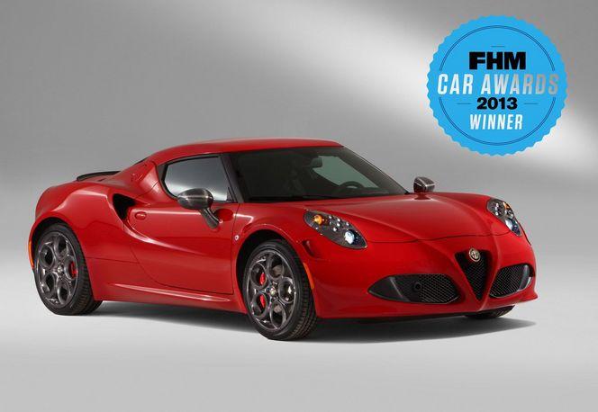 L'Alfa Romeo 4C élue voiture de l'année ... par FHM
