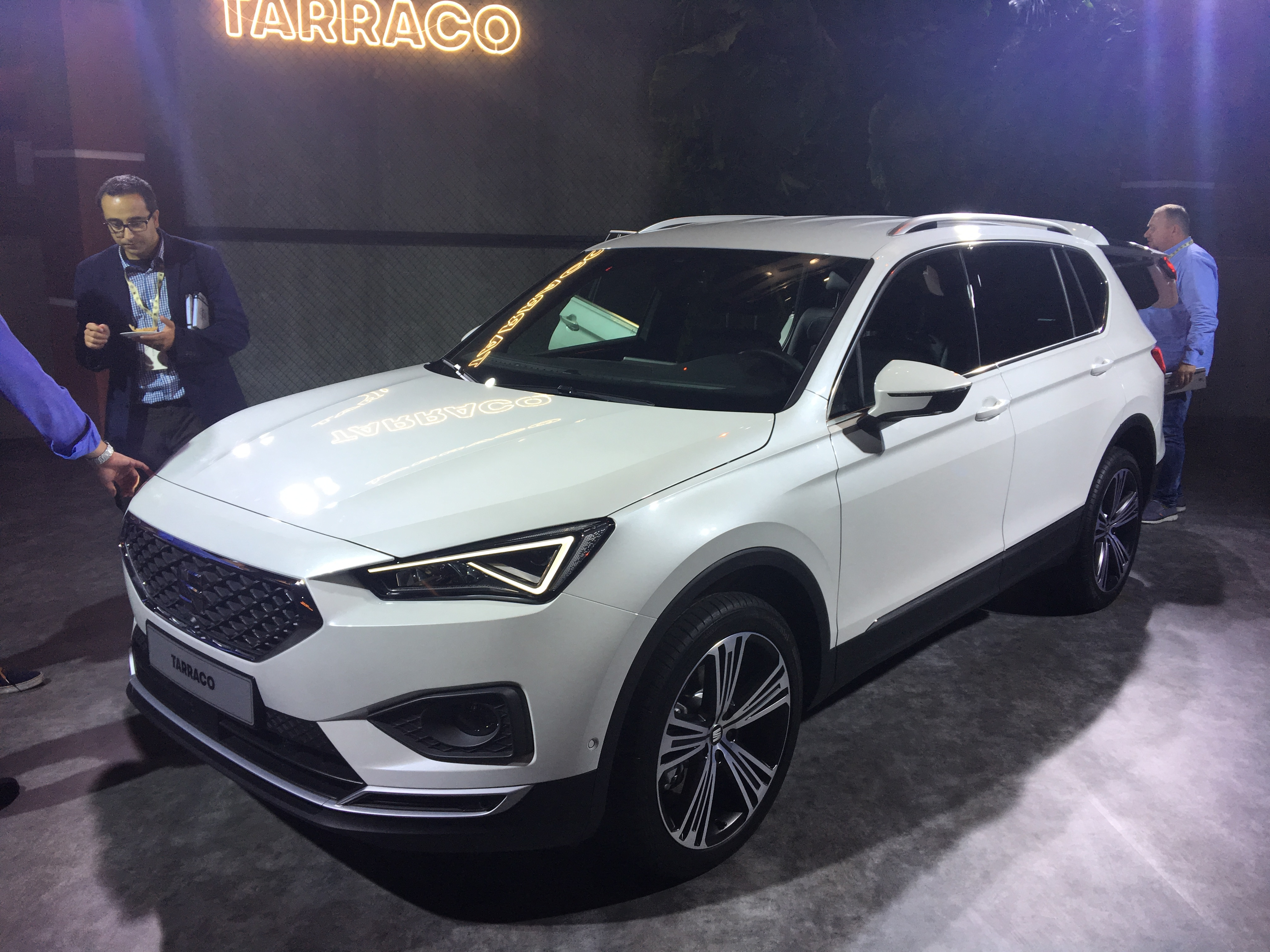 mondial de paris 2018 seat tarraco l 39 ib re grande. Black Bedroom Furniture Sets. Home Design Ideas