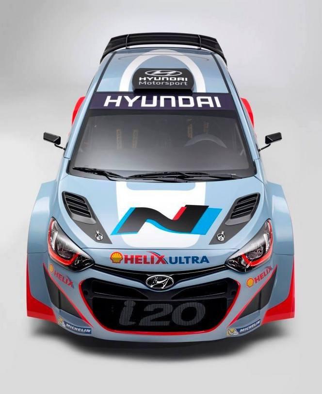 WRC 2014 - Hyundai sponsorisé par Shell alignera également Sordo et Atkinson