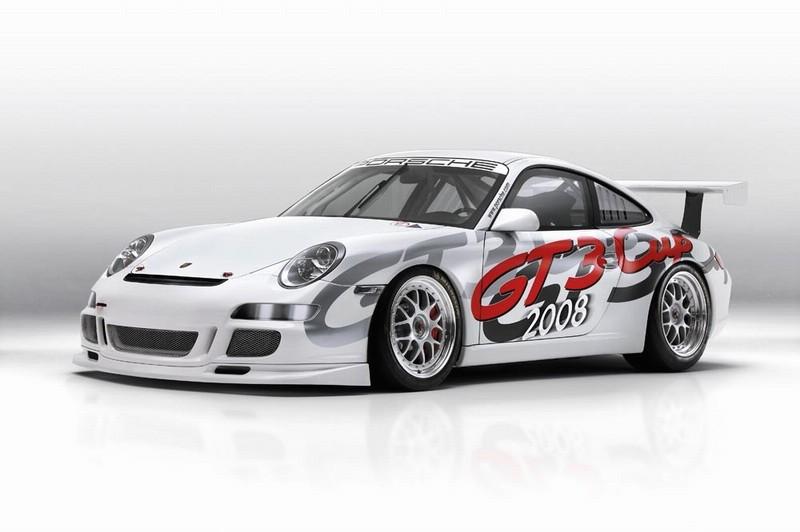 Porsche 997 GT3 Cup 2008 : du