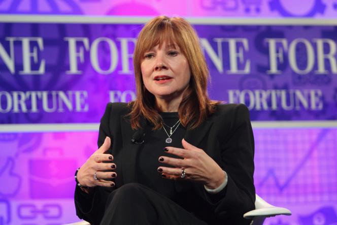 Une femme à la tête de General Motors
