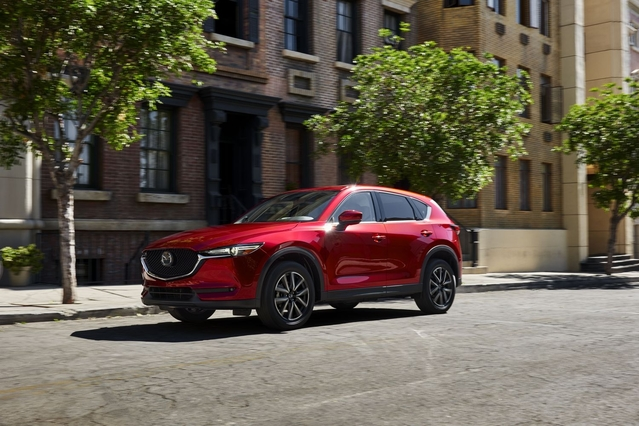 Salon de Los Angeles 2016 - Mazda renouvelle le CX-5