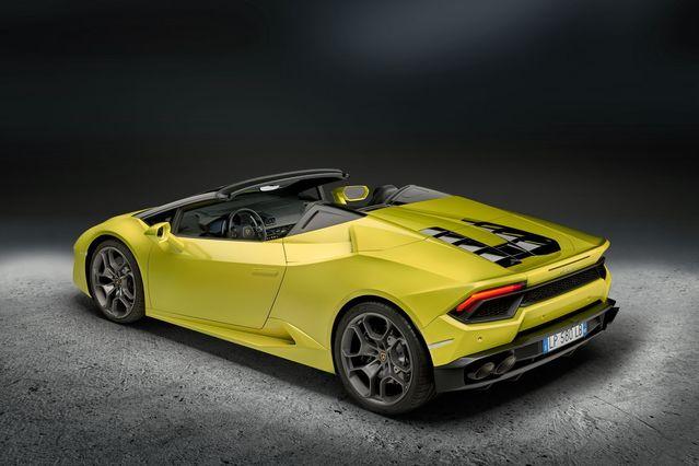 Salon de Los Angeles - Lamborghini Huracán propulsion: au tour du Spyder