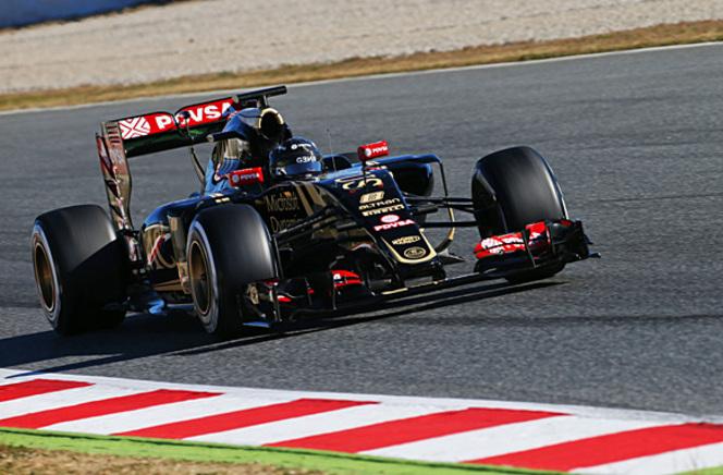 Essais F1 Barcelone - Jour 4 : Romain Grosjean confirme la forme de Lotus, Alonso à l'hôpital
